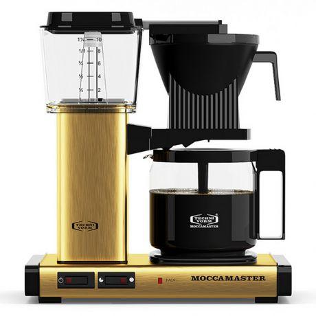 Kaffebryggare Mässing från MoccaMaster