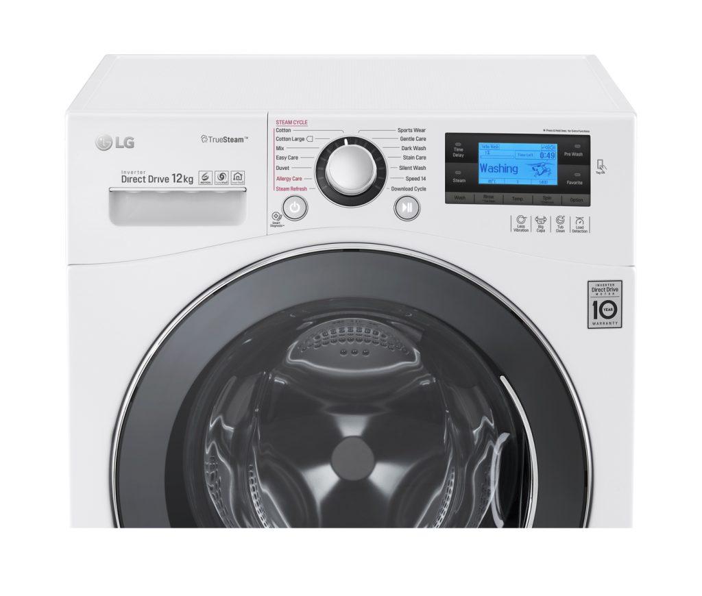 Mellanprodukten: LG FH495BDS2 Frontmatad tvättmaskin