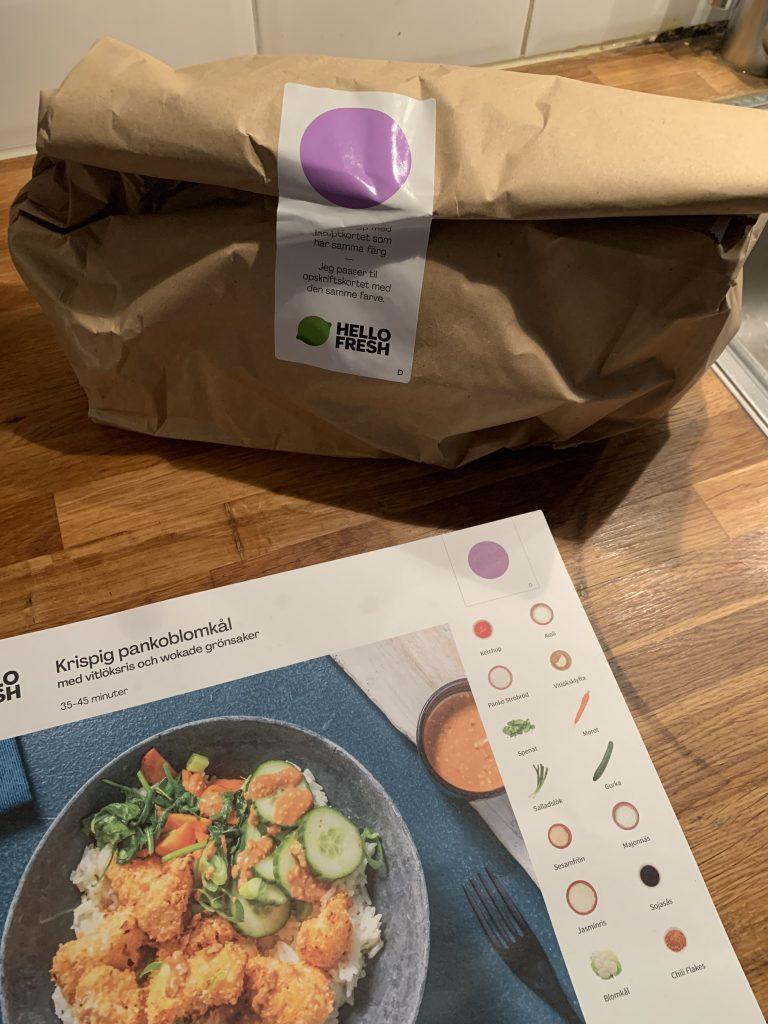Hello Fresh - Paketering