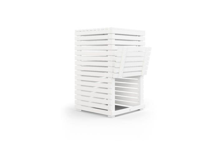 Kompost Jabo Horizont 60x60x95 Vit FSC