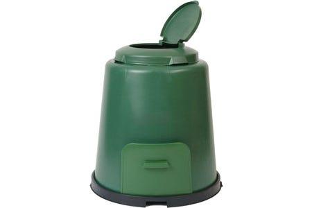 Kompostbehållare 280 liter med sockel Sunwind